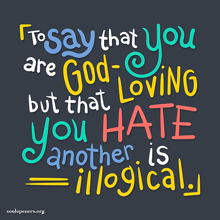 To be God-loving.