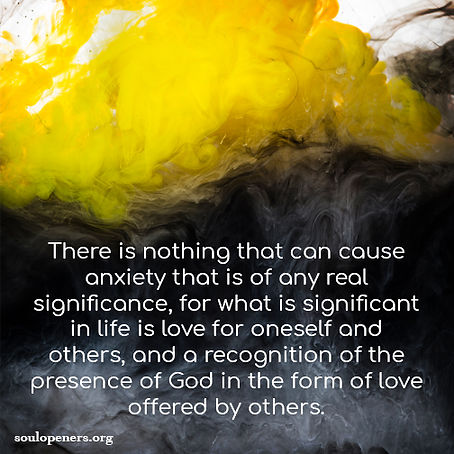 Anxiety not significant.