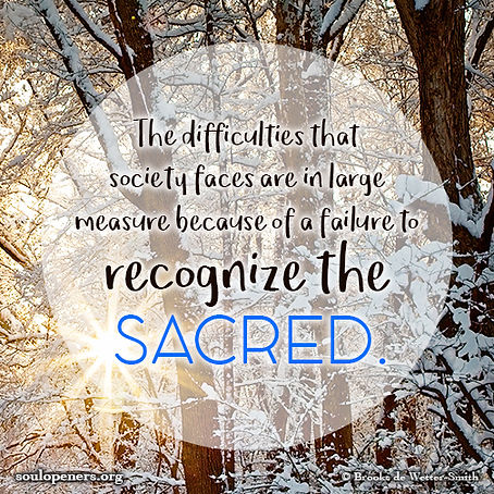 Difficulties due to lack of sacred.