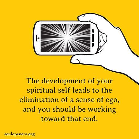 Eliminate ego.