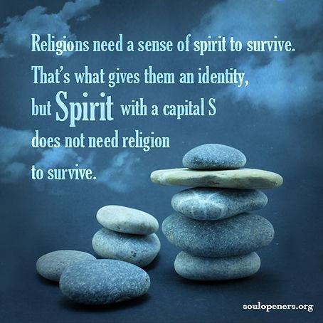 Religions and spirit/Spirit.