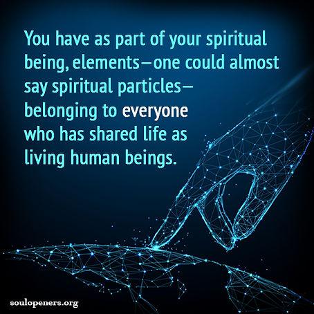 All share spiritual elements.