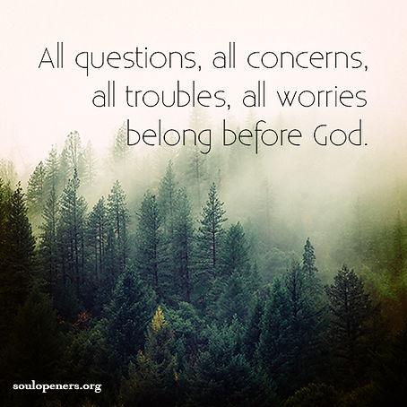 All belong before God.