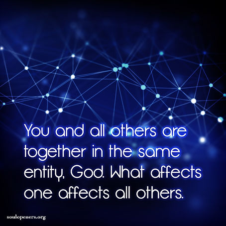 What affects one affects all.