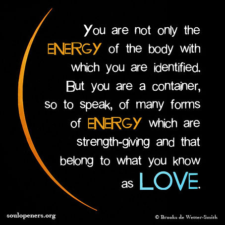 You are a container.