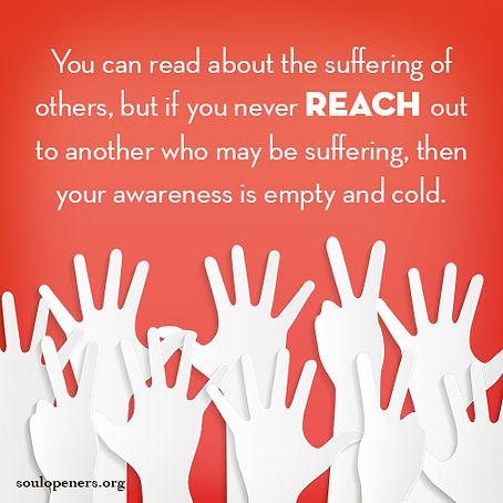 Awareness requires service.
