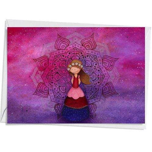 Carte Pink Mandala