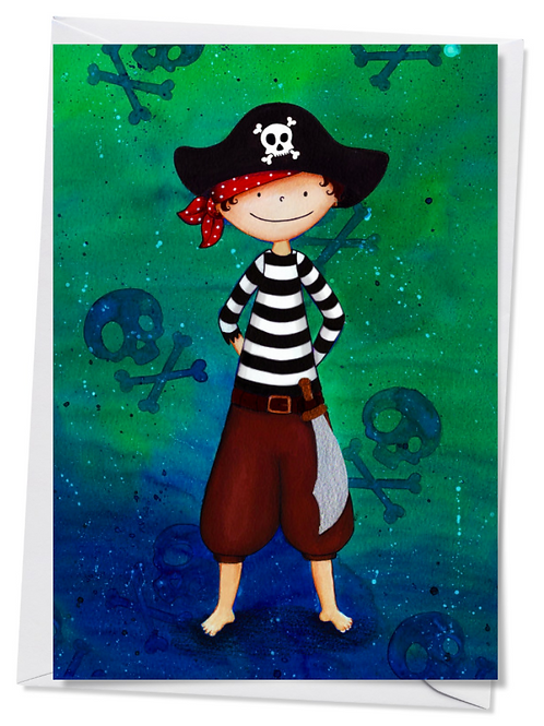 Carte Petit Pirate