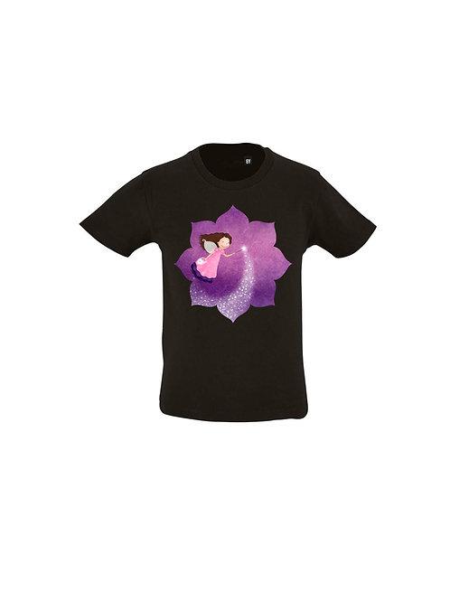 T-shirt enfant fée des étoiles