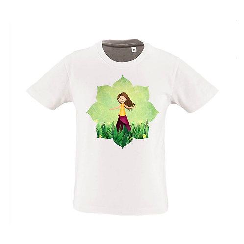 Tshirt  8ans Blanc