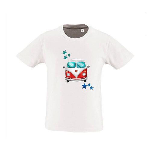 Tshirt  4ans BLANC