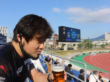J3リーグ第24節 鹿児島ユナイテッドFC VS FC今治「初めての地元観戦」