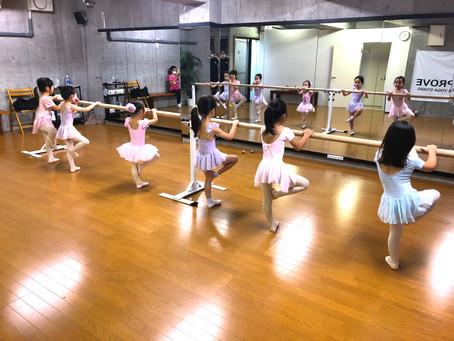 #305 バレエ教室(アキバレエスタジオ 中央林間校)頑張ってます♪