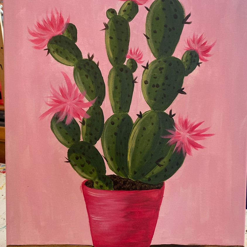 """May 5-Wine Down Wednesday @ The Palette Room """"Cactus"""""""