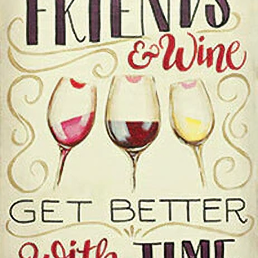 """Mar. 3-Wine Down Wednesday @ The Palette Room """"Friends & Wine"""""""