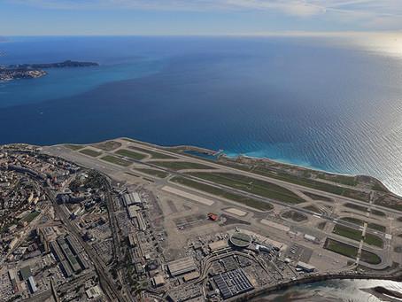 Flights between China and Nice Cote d'Azur International Airport