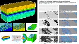 Конечноэлементное моделирование контакта шероховатых поверхностей