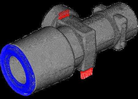 Оценка прочности баллонного вентиля при нагружении крутящим моментом при монтаже