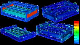 Статический и динамический анализ аккумуляторного ящик