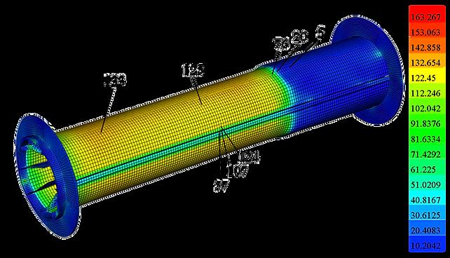 Напряжения в катушке при намотке проводника