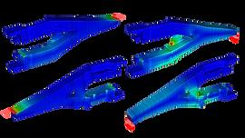 Анализ прочности зуба ковша экскаватора