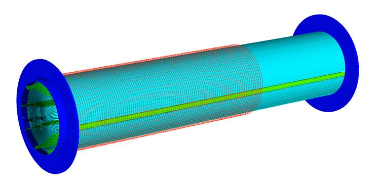 Уточненная модель катушки с проводником