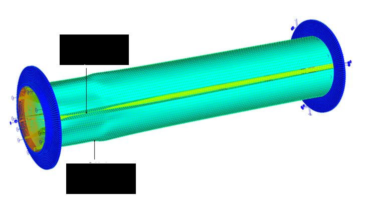 Деформация намоточного устройства при намотке 28 виткв