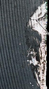 Трещина на боковой поверхности захвата