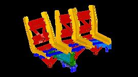 Динамический анализ кресла вагона электропоезда