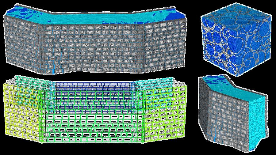 Модель стены крепости Атерет
