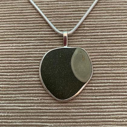 Flow :: Medium Stone Pendant