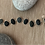 Thumbnail: Bright Light on a Dark Night :: Beach Stone Bracelet