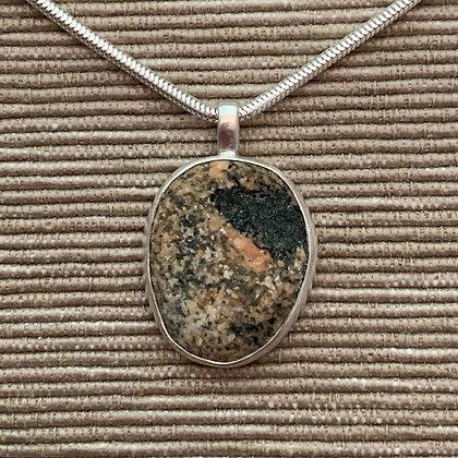 Hilltop :: Small Stone Pendant