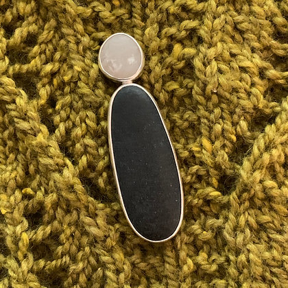 Stand Up Straight :: Double Stone Shawl/Sweater Pin