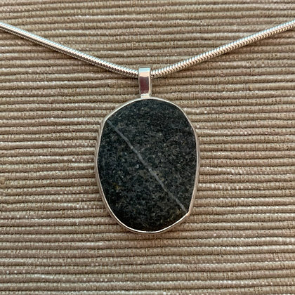 Steady Path :: Medium Stone Pendant