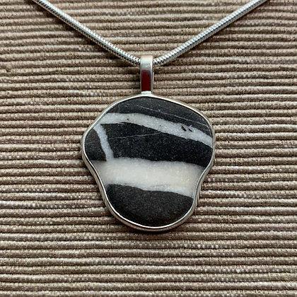 Italian Beach 1 :: Medium Stone Pendant