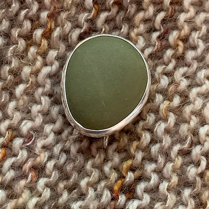 A Green Pool :: Shawl/Sweater Pin
