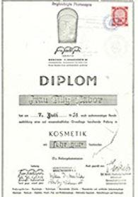 diplom tilly babor 07 juli 1951.jpg