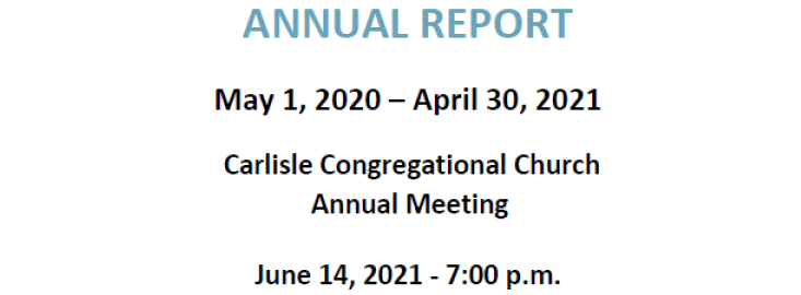 2021 Annual Report Available