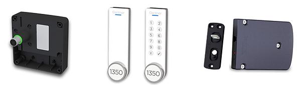 Gantner Eco Lock 7100 F und  GL7P