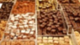 cioccolatini e cioccolata
