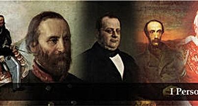 Garibaldi, Mazzini, Cavour, Napoleon III