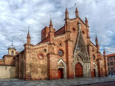 Chieri: centro storico, la chiocciola.
