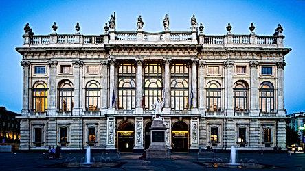 Palazzo Madama facciata Juvarriana