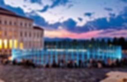 Venaria Royal Hunting Palace. Musical fountain