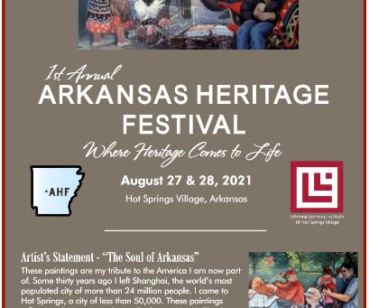 Arkansas Heritage Festival Program Released