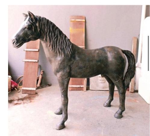 2.2m FIBRE GLASS HORSE