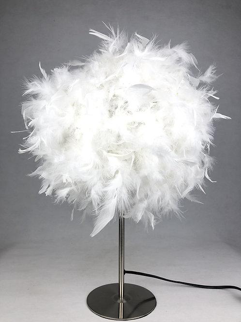 60CM WHITE TABLE LAMP