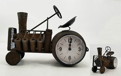 30CM TRACTOR TABLE CLOCK