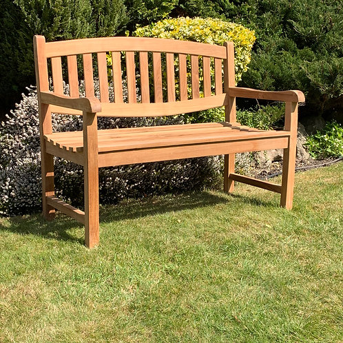 120CM 2 SEAT OVAL BACK BENCH
